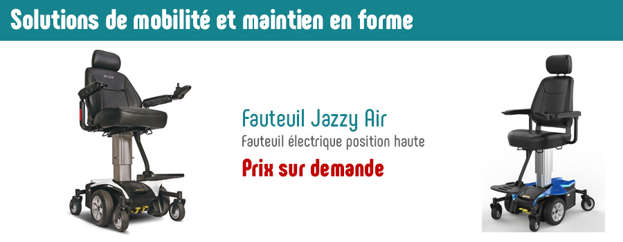 fauteuil jazzy air